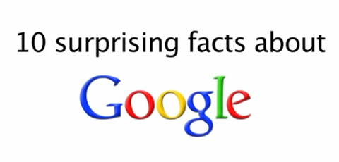 Ten Surprising Facts About Google