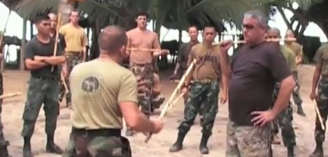 US Army Special Forces Training Philippine Marine Corps