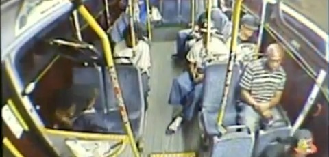 Man Gets Shot in the Nuts on COTA Bus