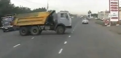 Man Nearly Dies By A Truck