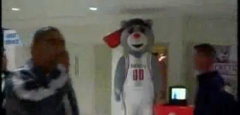 Bear Mascot Scaring People In Public