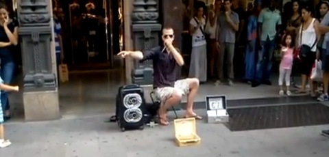 Beatboxing Street Performer