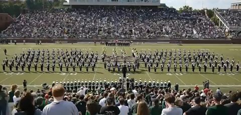 Marching Band Performs Gangnam Style