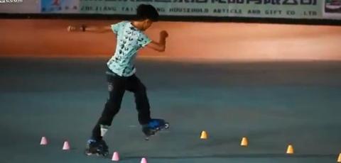 Amazing Rollerblading Skills