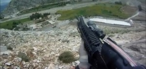 U.S. Soldier Survives Machine Gun Fire