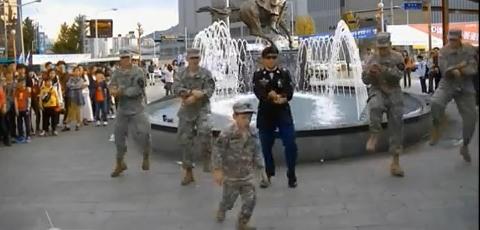 Army Gangnam Style By US Army