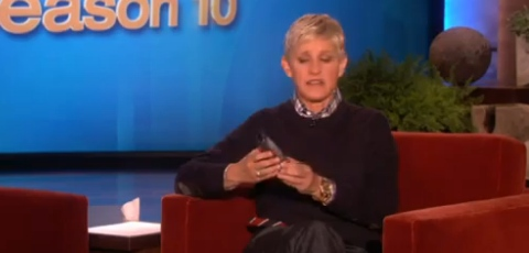 Ellen And the New iPhone 5 Maps